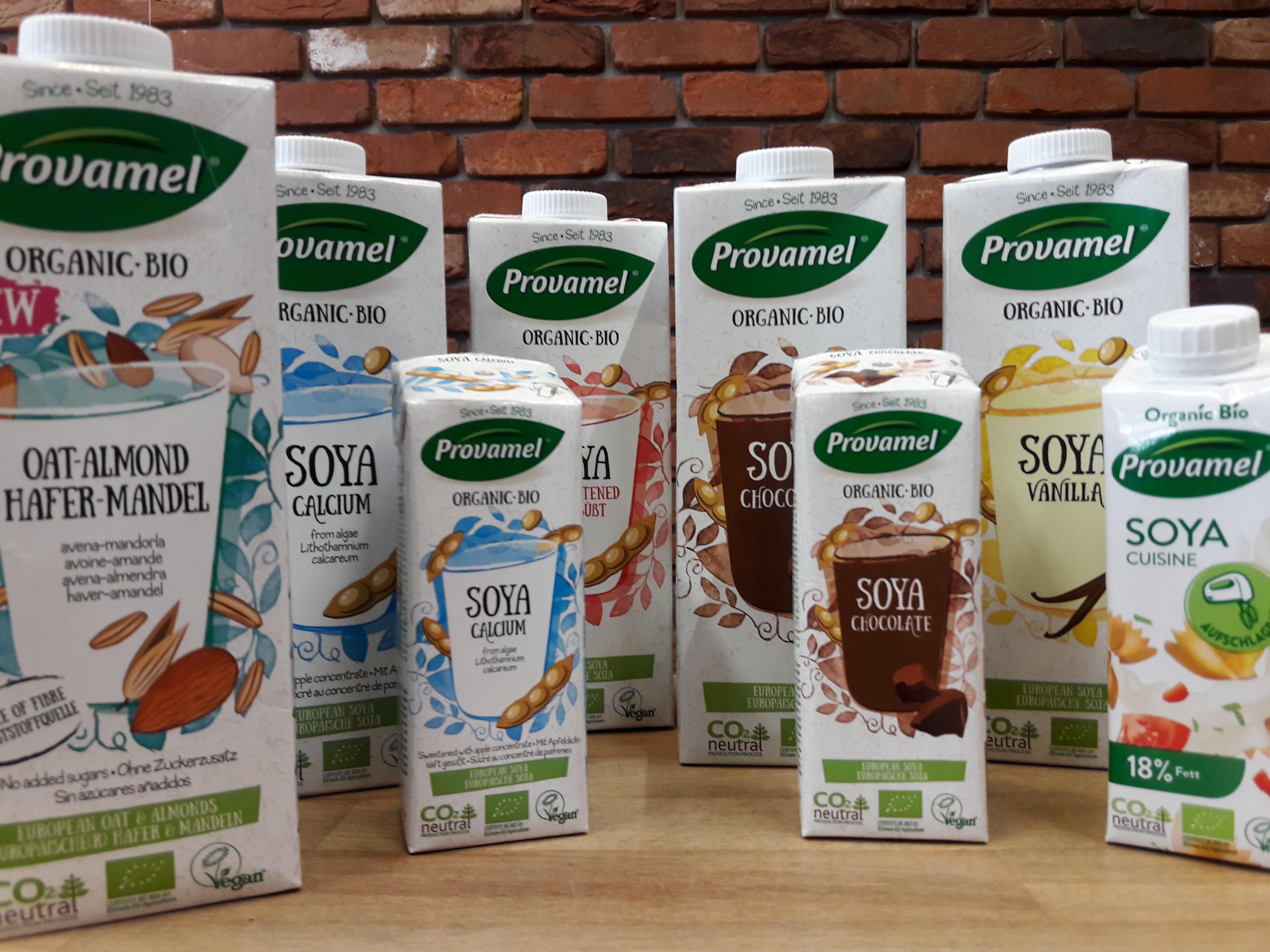 Provamel wertvolle pflanzliche Bio-Drinks – am Freitag, den 03. November 2017 100% Natur probieren!