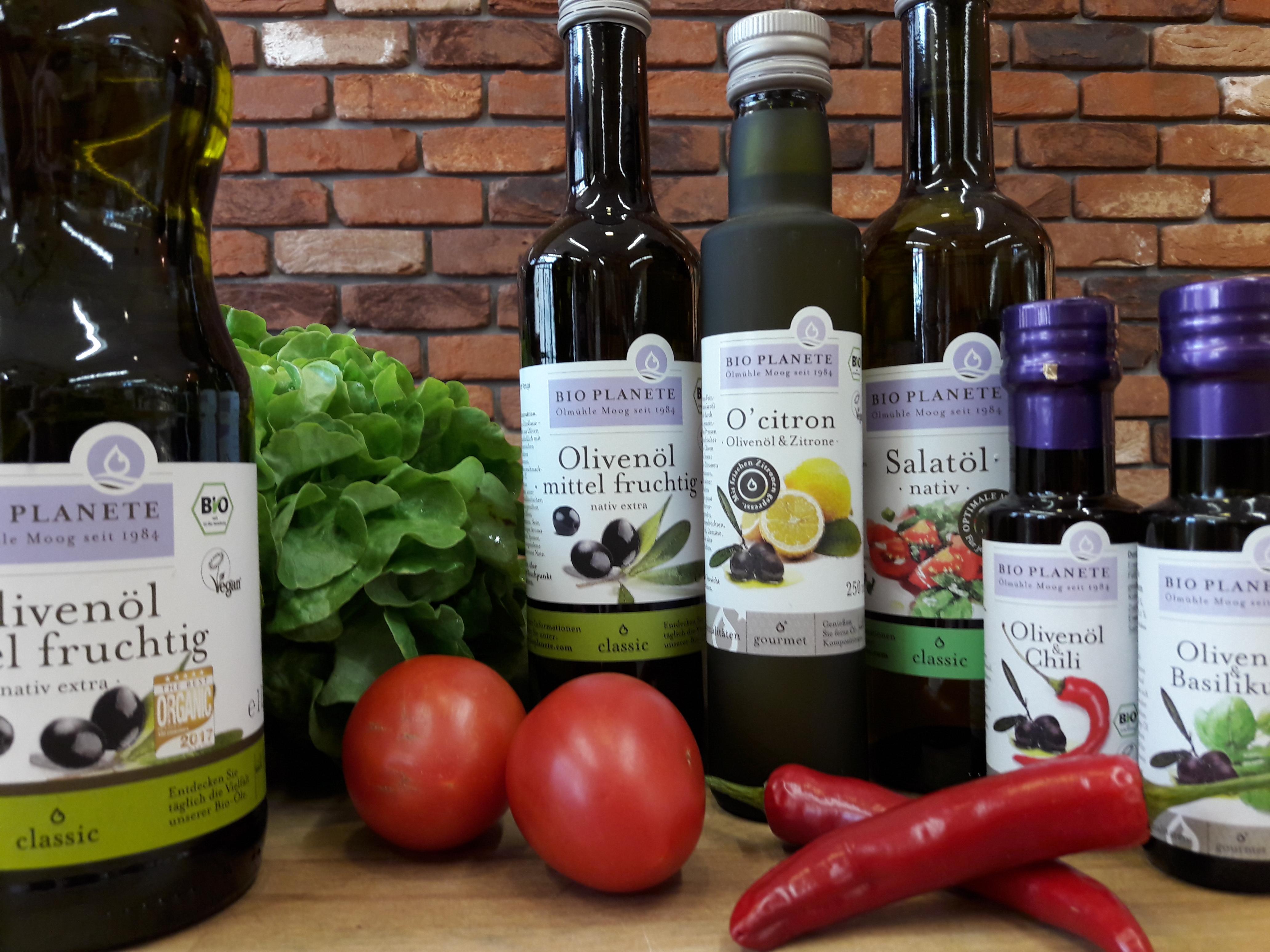 Hochwertige pflanzliche Öle für jede Gelegenheit: Bio Planète-Verkostungsaktion am Donnerstag, den 31. Mai 2018