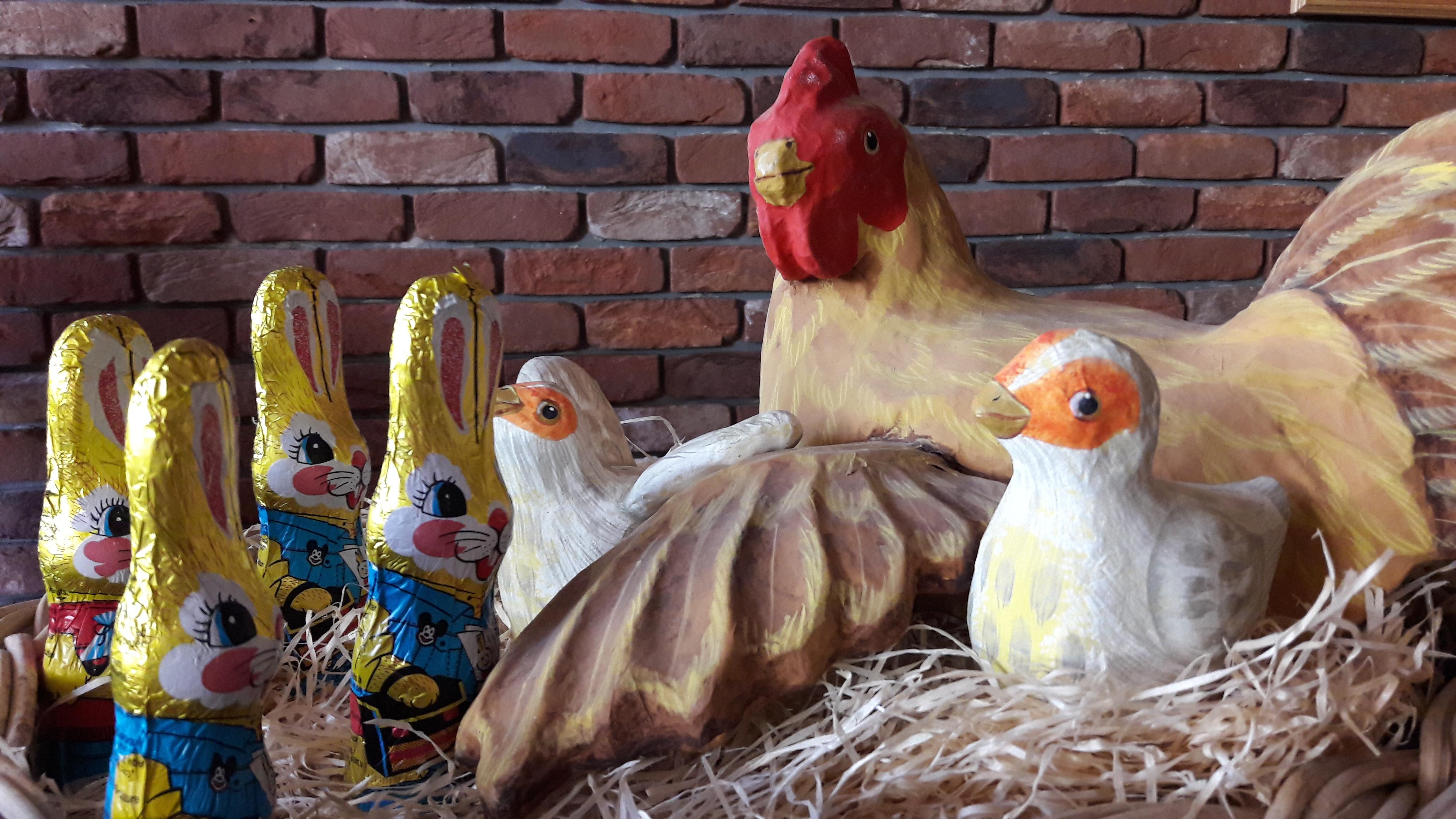 Ihre Hühner verstecken ihre Eier unauffindbar? Sie glauben nicht, dass der Osterhase welche bringt? Wir haben die Lösung!