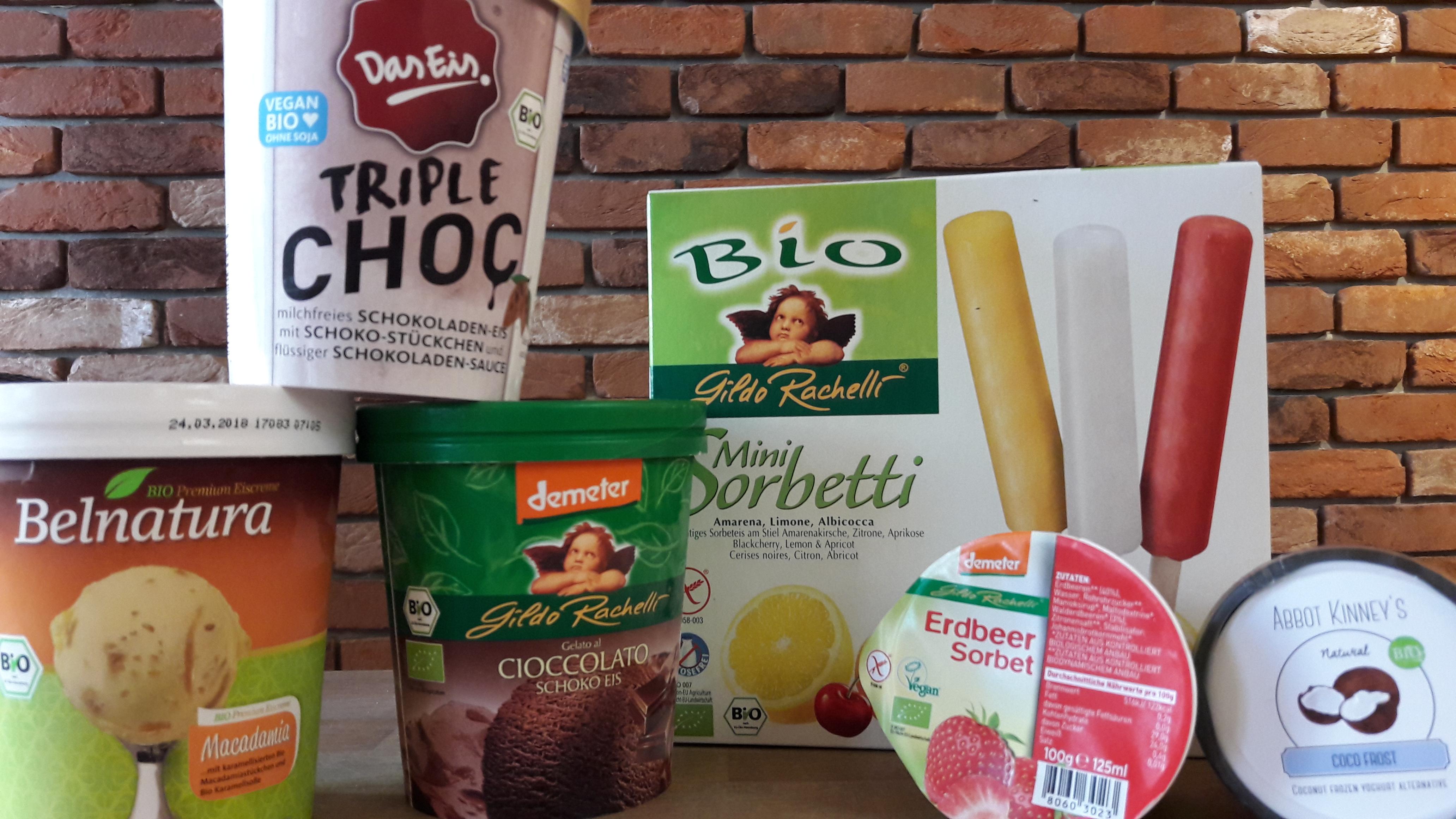 Einfach zum Dahinschmelzen! Genießen Sie unsere super-leckeren Bio-Eissorten!