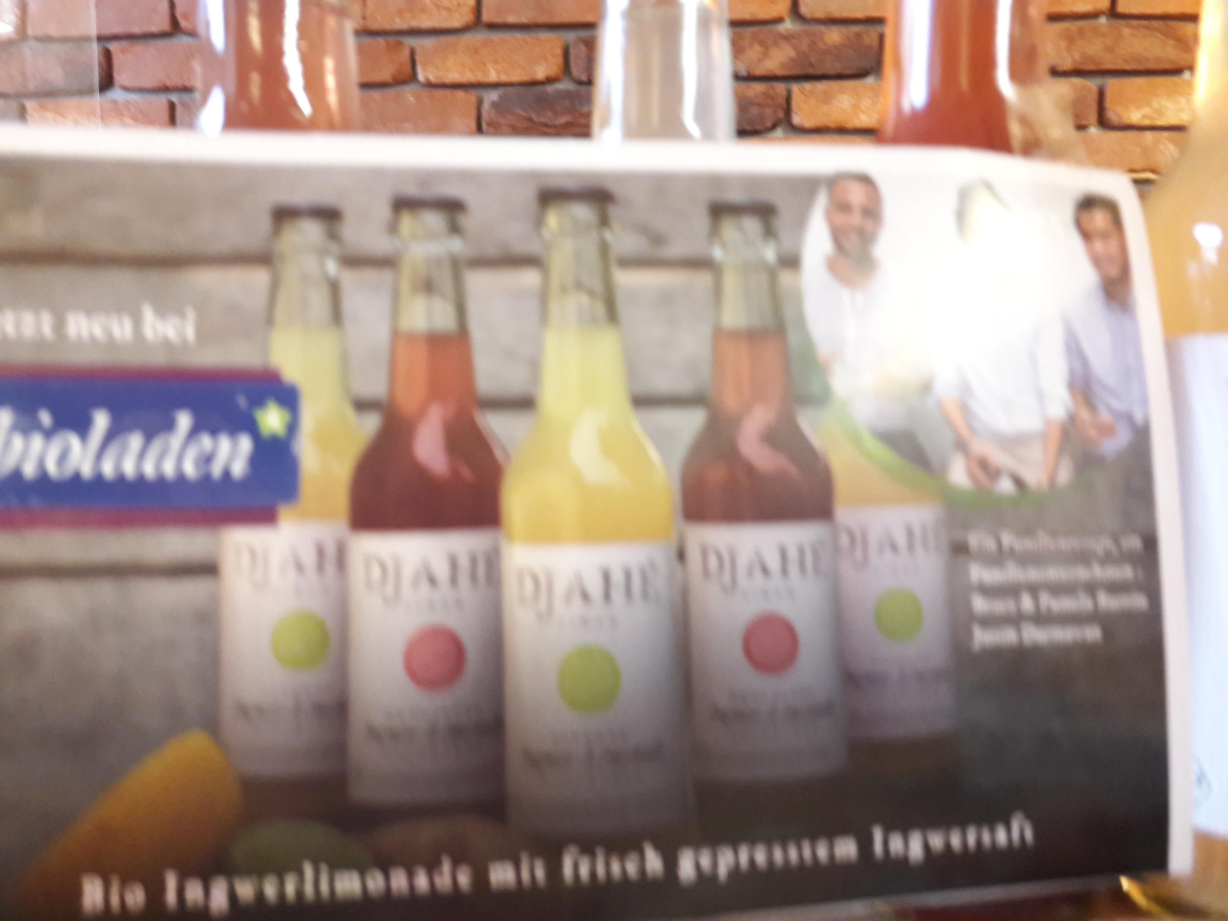 Sommersonniger Genuss! Probieren Sie die erfrischende Ingwerlimonade von Djahé!