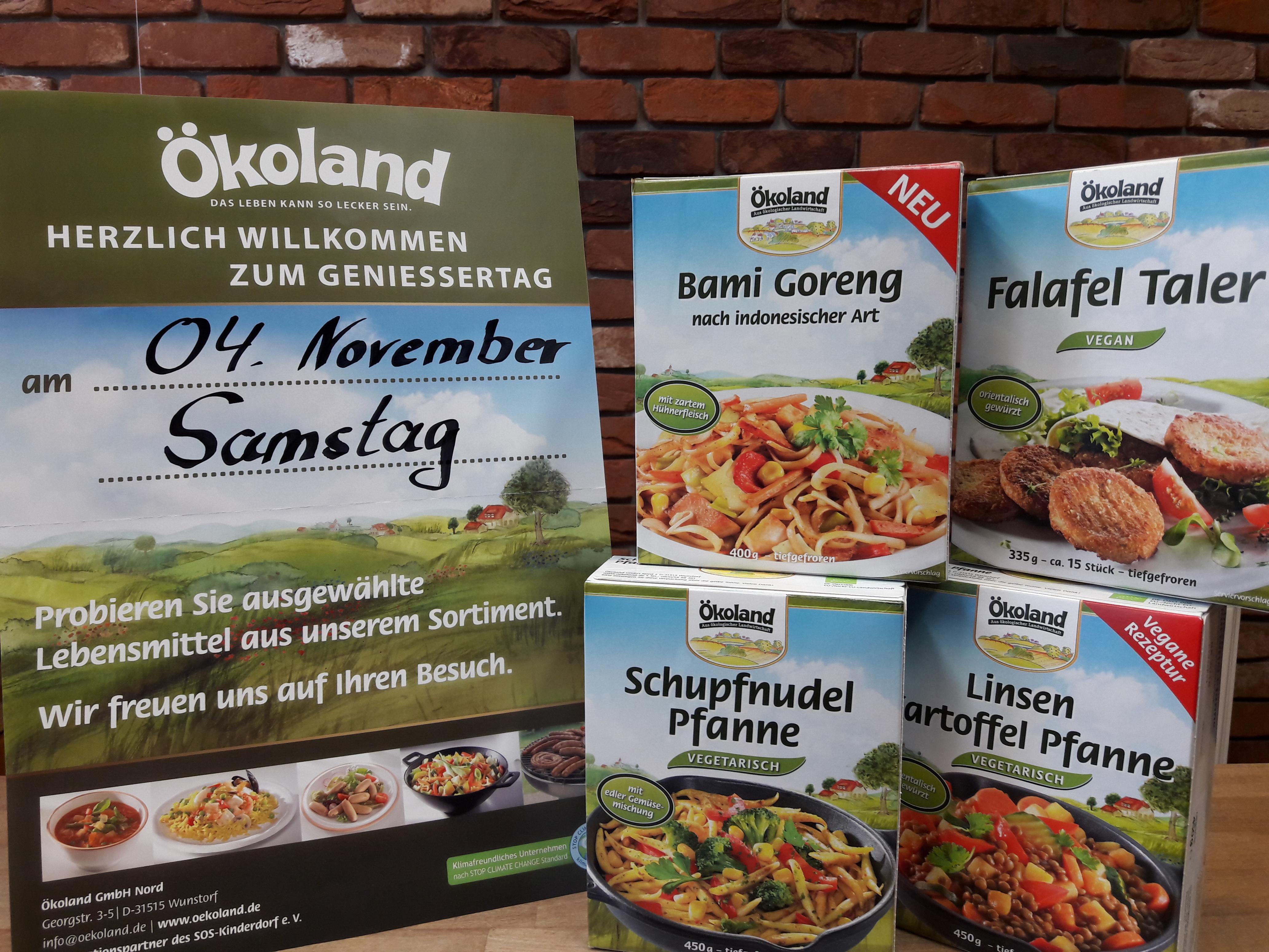 Machen Sie mit uns den ersten Novembersamstag zum Bio-Genießertag!