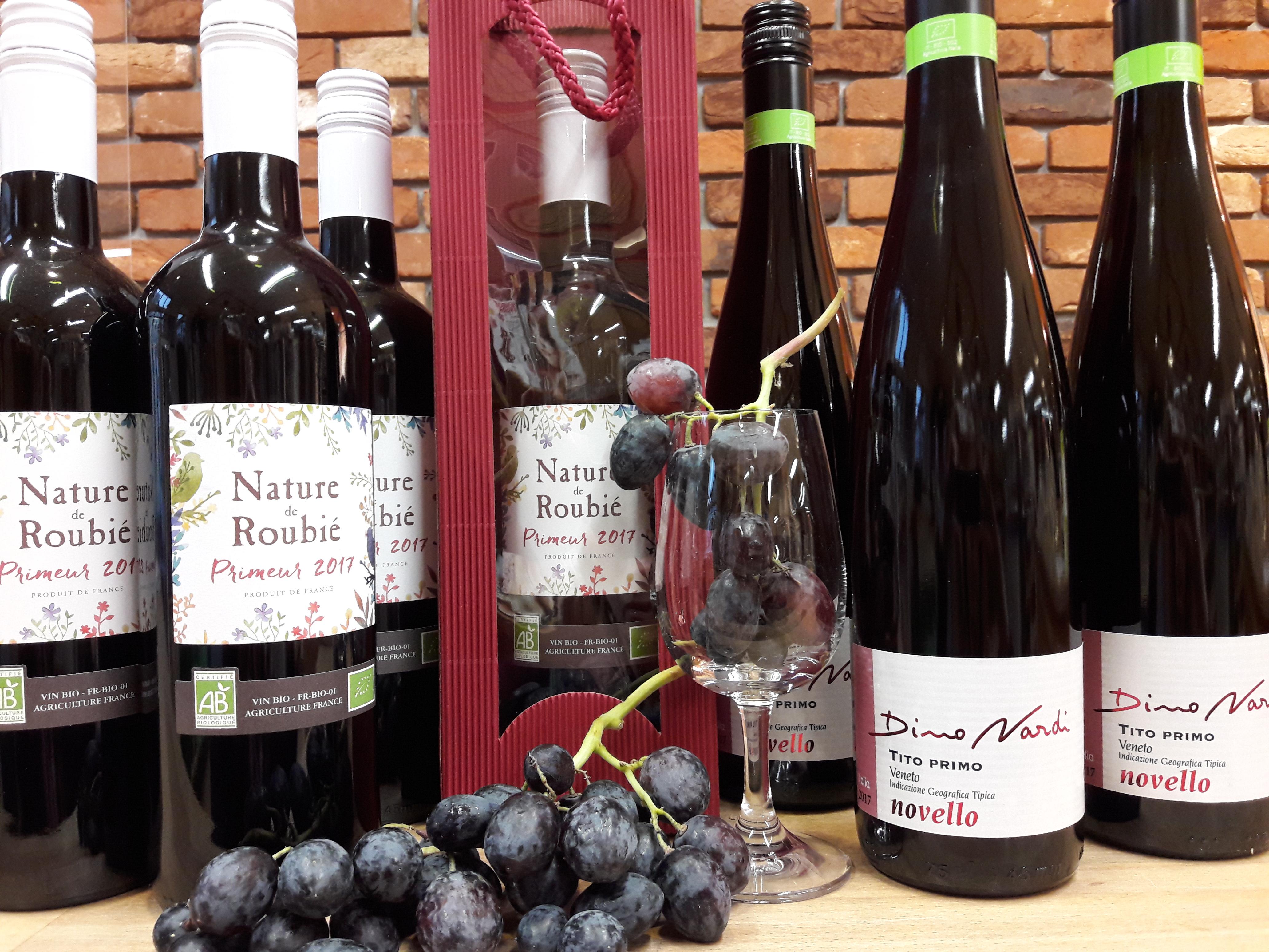 Wein – Wein – Bio-Weihnachten! Verschenken Sie etwas Individuelles und Persönliches!