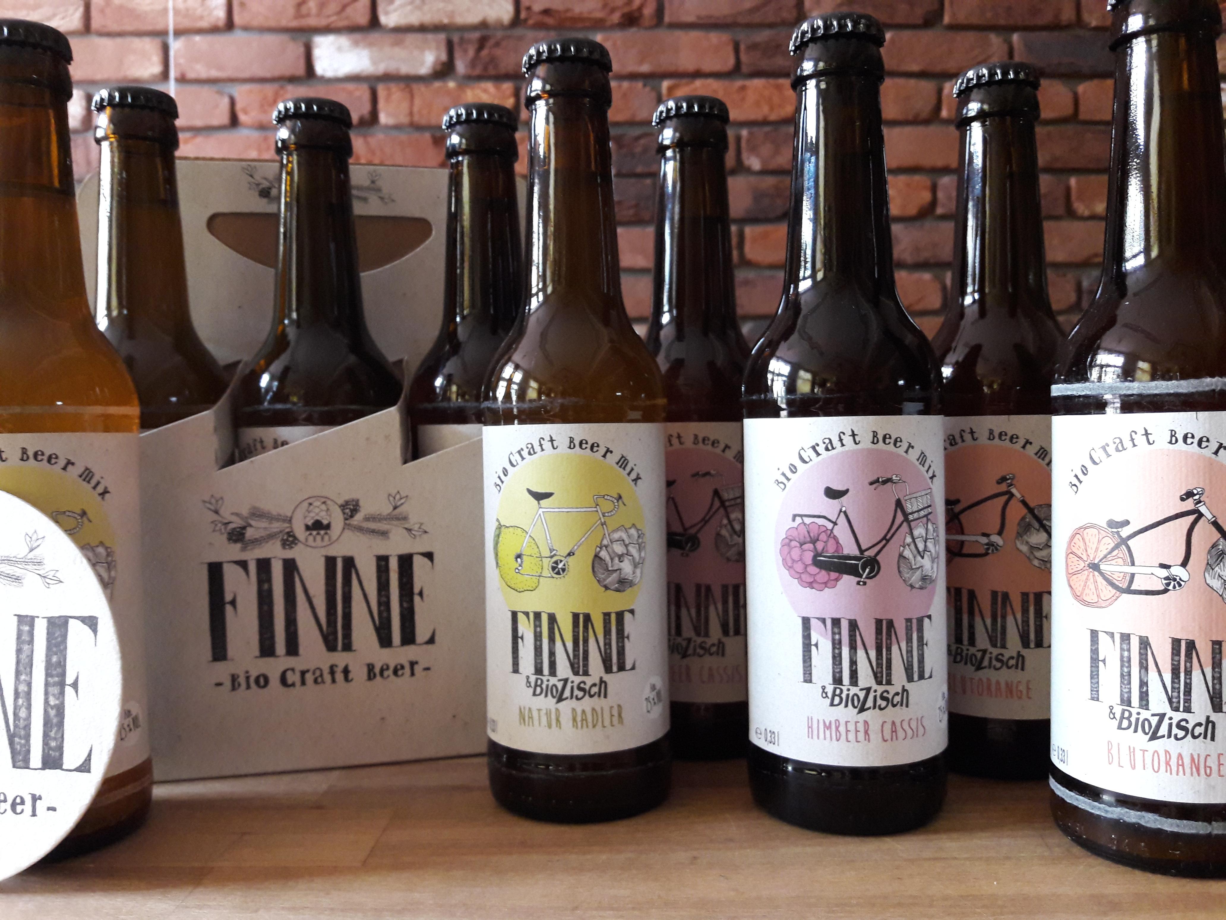 Erfrischend anders! Finne Bio Craft Beer meets  Voelkel BioZisch